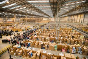 Inside an Amazon Warehouse