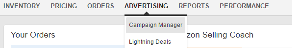 Campaign Manager Amazon PPC