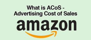 Amazon ACoS Cost Of Sales