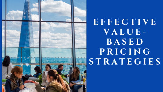 Value Based Pricing Strategies