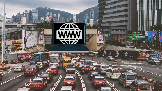 web traffic 2019