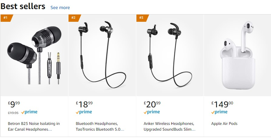 amazon product pricing