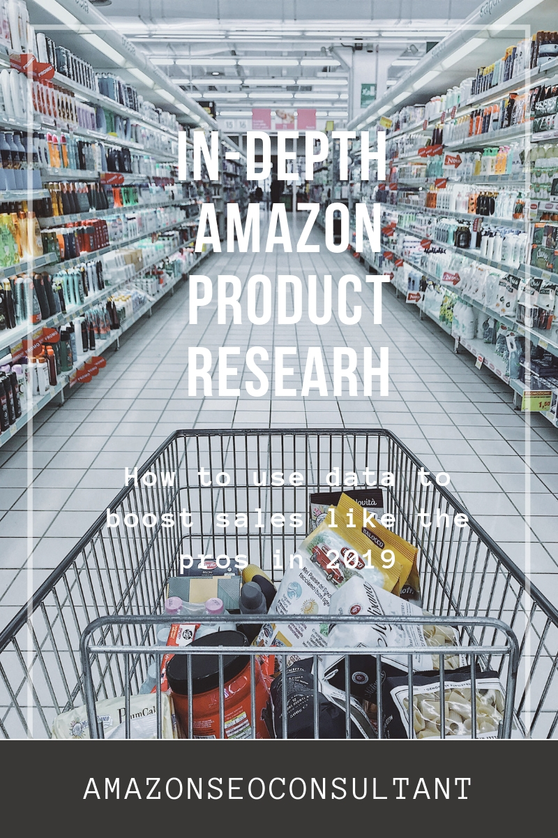 in-depth amazon product research