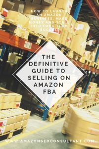 the definitive guide to selling on amazon fba