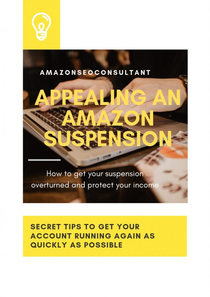 Appealing an amazon suspension