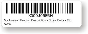 amazon barcode