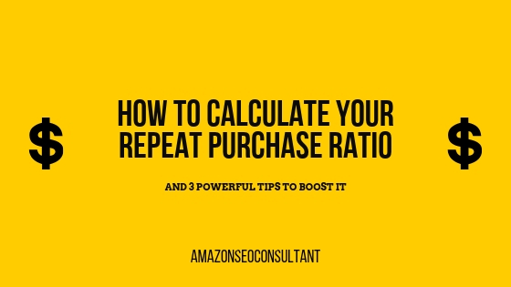 calculate repeat purchase ratio