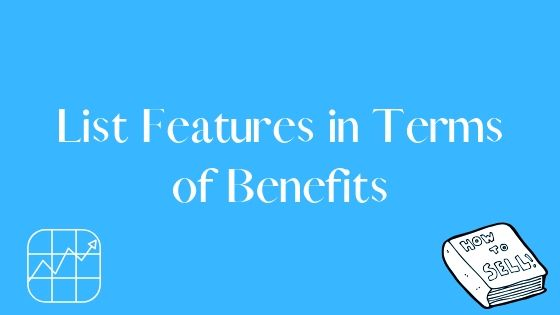 list features in terms of benefits
