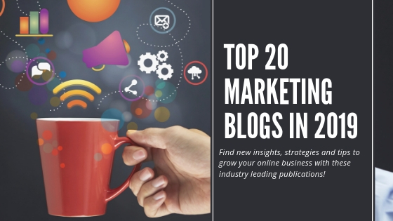 Top 20 marketing blogs