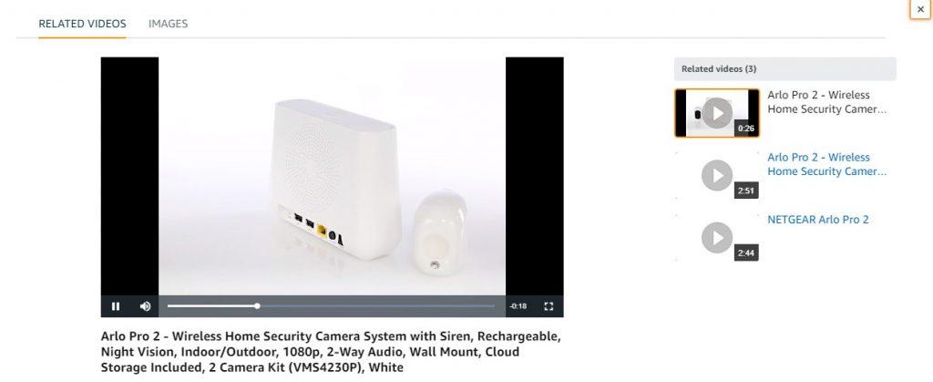 amazon enhanced brand content video