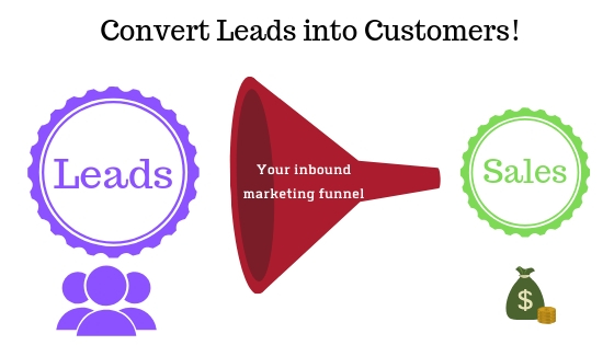 covert leads into customers