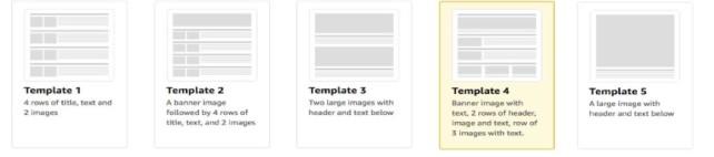 enhanced brand content templates