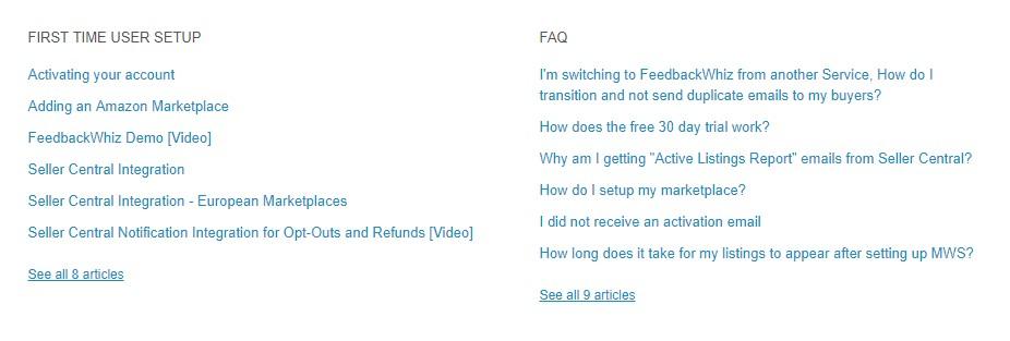 feedbackwhiz faqs