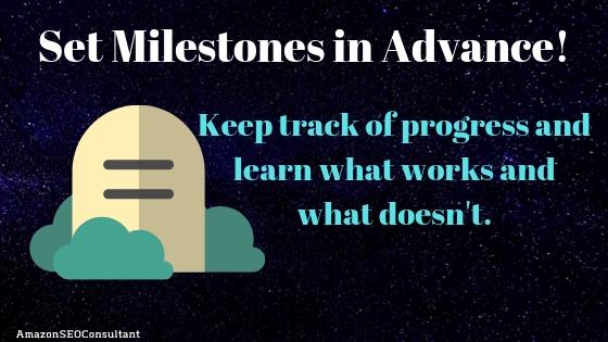 set milestones