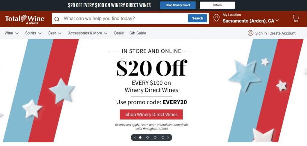 good ecommerce homepage examples
