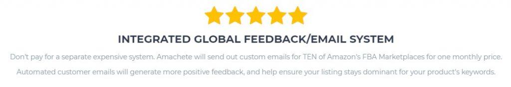 amachete feedback alerts