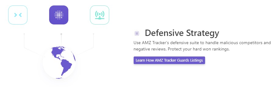 amz tracker defensive strategy