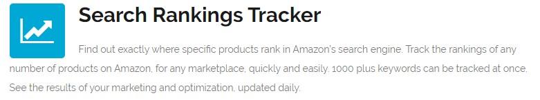 amzshark search rankings tracker