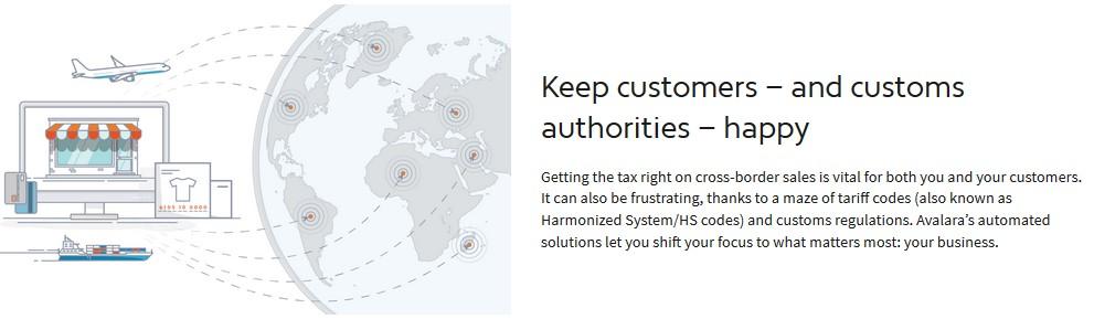 avalara customs duty