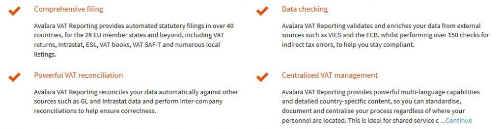 avalara value added tax
