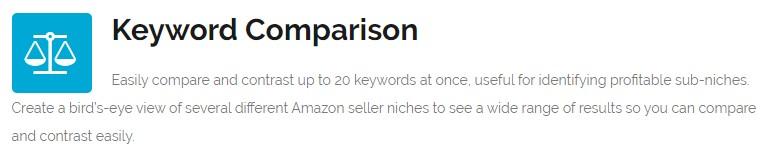 amzshark keyword comparison