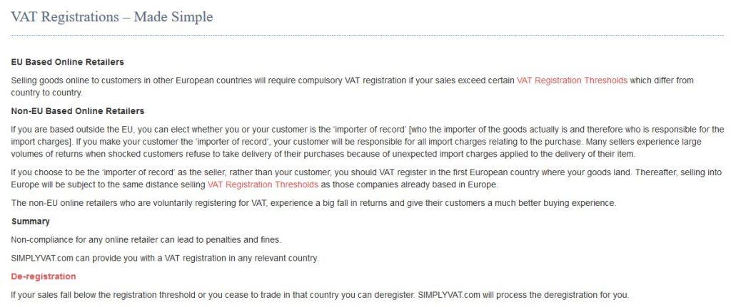 simplyvat registrations
