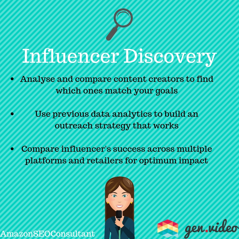 gen.video influencer discovery