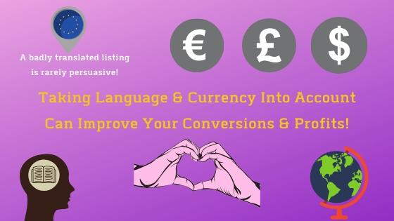 translating amazon listings