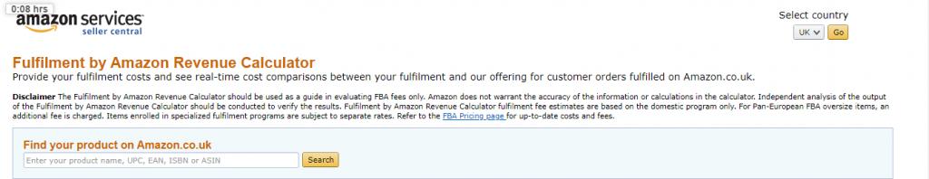 fulfillment-by-Amazon-revenue-calculator