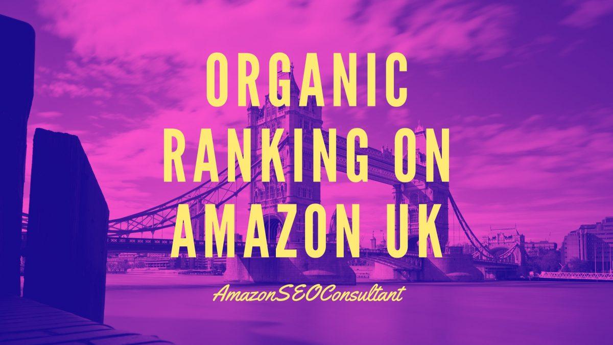 organic rankings on amazon uk